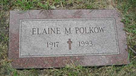 POLKOW, ELAINE M. - Cook County, Illinois | ELAINE M. POLKOW - Illinois Gravestone Photos