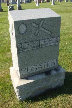 PUSATERI, FRANCES - Cook County, Illinois   FRANCES PUSATERI - Illinois Gravestone Photos