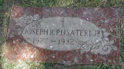 PUSATERI, JOSEPH R. JR. - Cook County, Illinois | JOSEPH R. JR. PUSATERI - Illinois Gravestone Photos