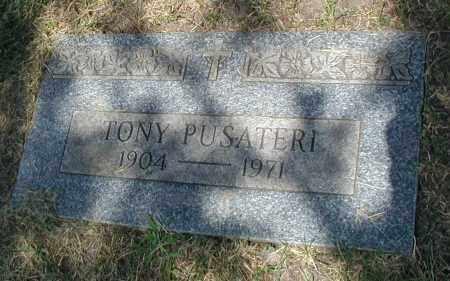 PUSATERI, TONY - Cook County, Illinois | TONY PUSATERI - Illinois Gravestone Photos