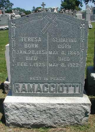 RAMACCIOTTI, TERESA - Cook County, Illinois | TERESA RAMACCIOTTI - Illinois Gravestone Photos