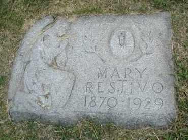 RESTIVO, MARY - Cook County, Illinois | MARY RESTIVO - Illinois Gravestone Photos