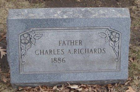 RICHARDS, CHARLES A. - Cook County, Illinois | CHARLES A. RICHARDS - Illinois Gravestone Photos