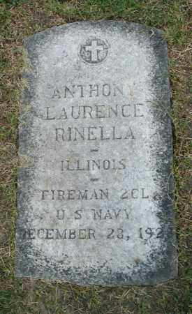 RINELLA, ANTHONY LAURENCE - Cook County, Illinois | ANTHONY LAURENCE RINELLA - Illinois Gravestone Photos