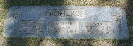 ROMERO, PEREZ LOLLY - Cook County, Illinois | PEREZ LOLLY ROMERO - Illinois Gravestone Photos