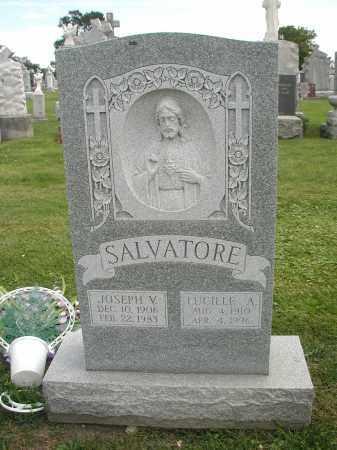 SALVATORE, LUCILLE A. - Cook County, Illinois | LUCILLE A. SALVATORE - Illinois Gravestone Photos