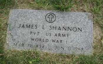 SHANNON, JAMES L. - Cook County, Illinois | JAMES L. SHANNON - Illinois Gravestone Photos