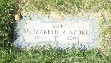 SZOKE, ELIZABETH A. - Cook County, Illinois | ELIZABETH A. SZOKE - Illinois Gravestone Photos