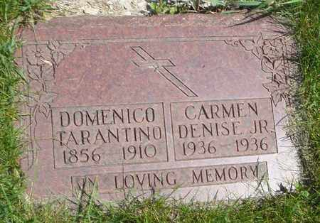 DENISE, CARMEN JR. - Cook County, Illinois | CARMEN JR. DENISE - Illinois Gravestone Photos
