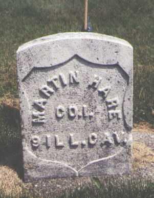 HARE, MARTIN - DeKalb County, Illinois   MARTIN HARE - Illinois Gravestone Photos