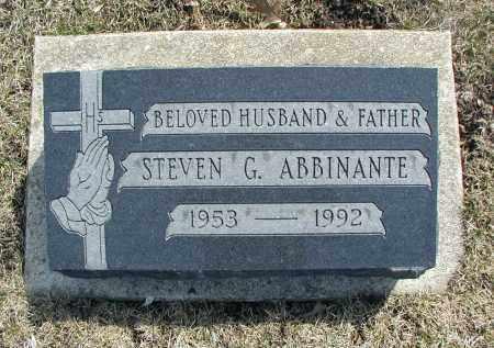 ABBINANTE, STEVEN G. - DuPage County, Illinois | STEVEN G. ABBINANTE - Illinois Gravestone Photos