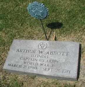 ABBOTT, ARTHUR W. - DuPage County, Illinois | ARTHUR W. ABBOTT - Illinois Gravestone Photos