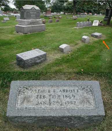 ABBOTT, ARTHUR E. - DuPage County, Illinois | ARTHUR E. ABBOTT - Illinois Gravestone Photos