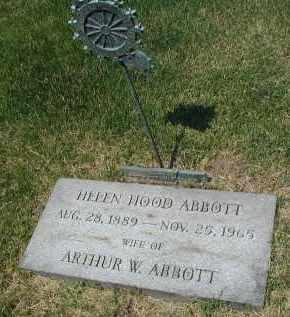 ABBOTT, HELEN - DuPage County, Illinois   HELEN ABBOTT - Illinois Gravestone Photos