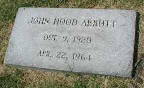 ABBOTT, JOHN HOOD - DuPage County, Illinois | JOHN HOOD ABBOTT - Illinois Gravestone Photos