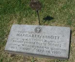 ABBOTT, MARGARET - DuPage County, Illinois   MARGARET ABBOTT - Illinois Gravestone Photos