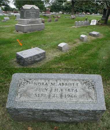 ABBOTT, NORA M. - DuPage County, Illinois | NORA M. ABBOTT - Illinois Gravestone Photos