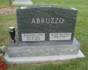 ABRUZZO, BARBARA ANN - DuPage County, Illinois | BARBARA ANN ABRUZZO - Illinois Gravestone Photos