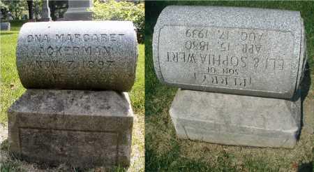 ACKERMAN, ONA MARGARET - DuPage County, Illinois | ONA MARGARET ACKERMAN - Illinois Gravestone Photos