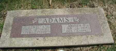 ADAMS, JEWEL A. - DuPage County, Illinois | JEWEL A. ADAMS - Illinois Gravestone Photos