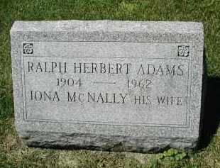 ADAMS, RAPH HERBERT - DuPage County, Illinois | RAPH HERBERT ADAMS - Illinois Gravestone Photos