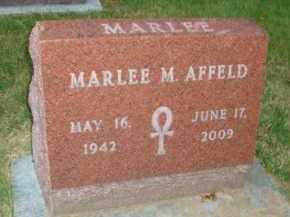 AFFELD, MARLEE M. - DuPage County, Illinois | MARLEE M. AFFELD - Illinois Gravestone Photos