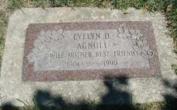 AGNOLI, EVELYN D. - DuPage County, Illinois | EVELYN D. AGNOLI - Illinois Gravestone Photos