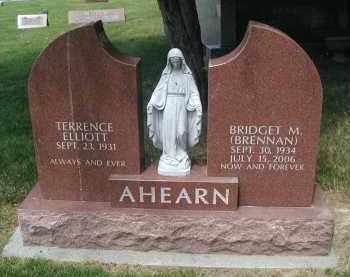 AHEARN, BRIDGET M. - DuPage County, Illinois | BRIDGET M. AHEARN - Illinois Gravestone Photos