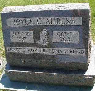 AHRENS, JOYCE C. - DuPage County, Illinois   JOYCE C. AHRENS - Illinois Gravestone Photos