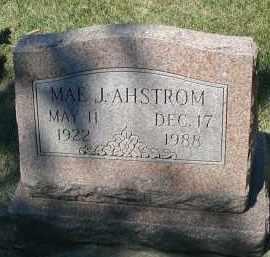 AHSTROM, MAE J. - DuPage County, Illinois | MAE J. AHSTROM - Illinois Gravestone Photos