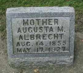 ALBRECHT, AUGUSTA M. - DuPage County, Illinois | AUGUSTA M. ALBRECHT - Illinois Gravestone Photos