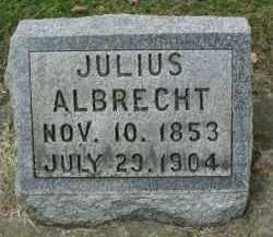 ALBRECHT, JULIUS - DuPage County, Illinois | JULIUS ALBRECHT - Illinois Gravestone Photos