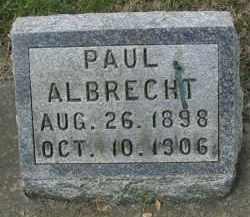 ALBRECHT, PAUL - DuPage County, Illinois   PAUL ALBRECHT - Illinois Gravestone Photos