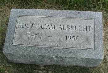 ALBRECHT, REV. WILLIAM - DuPage County, Illinois | REV. WILLIAM ALBRECHT - Illinois Gravestone Photos