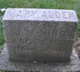 ALDEN, MARY - DuPage County, Illinois | MARY ALDEN - Illinois Gravestone Photos
