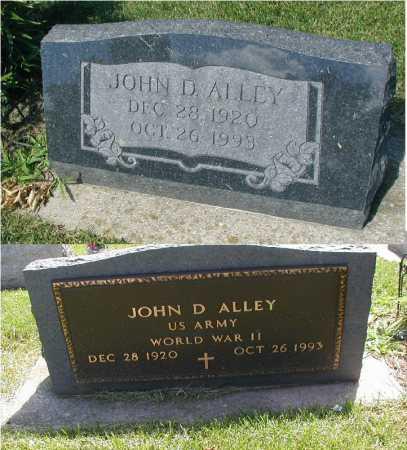 ALLEY, JOHN D. - DuPage County, Illinois | JOHN D. ALLEY - Illinois Gravestone Photos