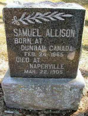 ALLISON, SAMUEL - DuPage County, Illinois | SAMUEL ALLISON - Illinois Gravestone Photos