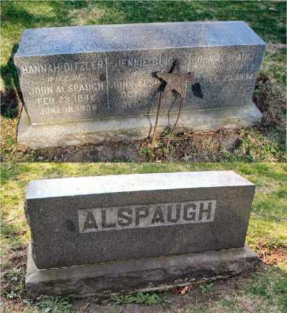 GLICK ALSPAUGH, JENNIE - DuPage County, Illinois | JENNIE GLICK ALSPAUGH - Illinois Gravestone Photos