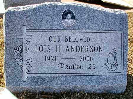 ANDERSON, LOIS H. - DuPage County, Illinois | LOIS H. ANDERSON - Illinois Gravestone Photos
