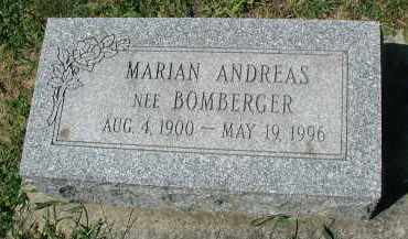 ANDREAS, MARIAN - DuPage County, Illinois | MARIAN ANDREAS - Illinois Gravestone Photos