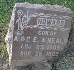 A'NEALS, HOWARD - DuPage County, Illinois | HOWARD A'NEALS - Illinois Gravestone Photos