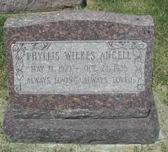 ANGELL, PHYLLIS - DuPage County, Illinois | PHYLLIS ANGELL - Illinois Gravestone Photos