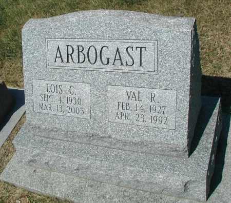 ARBOGAST, VAL R. - DuPage County, Illinois | VAL R. ARBOGAST - Illinois Gravestone Photos