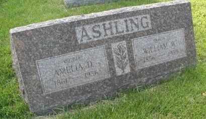 ASHLING, WILLIAM W. - DuPage County, Illinois | WILLIAM W. ASHLING - Illinois Gravestone Photos