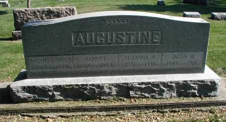 AUGUSTINE, HARRIET - DuPage County, Illinois | HARRIET AUGUSTINE - Illinois Gravestone Photos