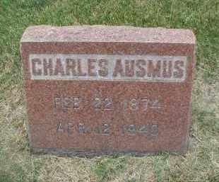 AUSMUS, CHARLES - DuPage County, Illinois   CHARLES AUSMUS - Illinois Gravestone Photos