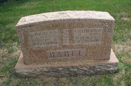 BABEL, JOHN E. - DuPage County, Illinois | JOHN E. BABEL - Illinois Gravestone Photos