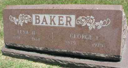 BAKER, LENA H. - DuPage County, Illinois | LENA H. BAKER - Illinois Gravestone Photos