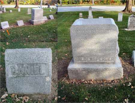 BALDENSPERGER, DANIEL - DuPage County, Illinois | DANIEL BALDENSPERGER - Illinois Gravestone Photos