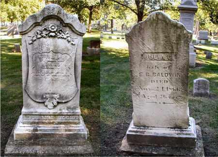 BALDWIN, JULIA C. - DuPage County, Illinois | JULIA C. BALDWIN - Illinois Gravestone Photos